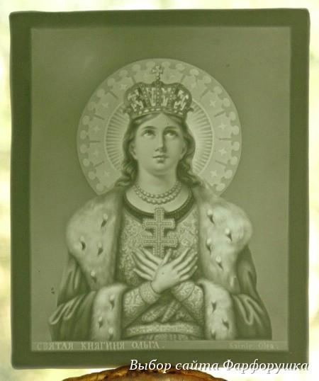 фарфоровая литофания Meissen, немецкий фарфор