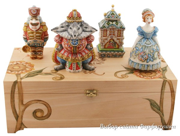Porcelain Studio Klimenkoff, Porcelain Nutcracker Set in a Box