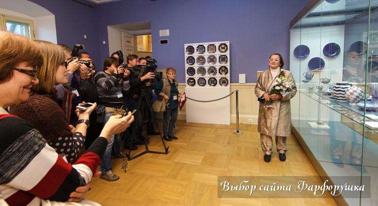 """Галина Шуляк, выставка """"Фарфоровый путь"""", Царицыно, ИФЗ"""