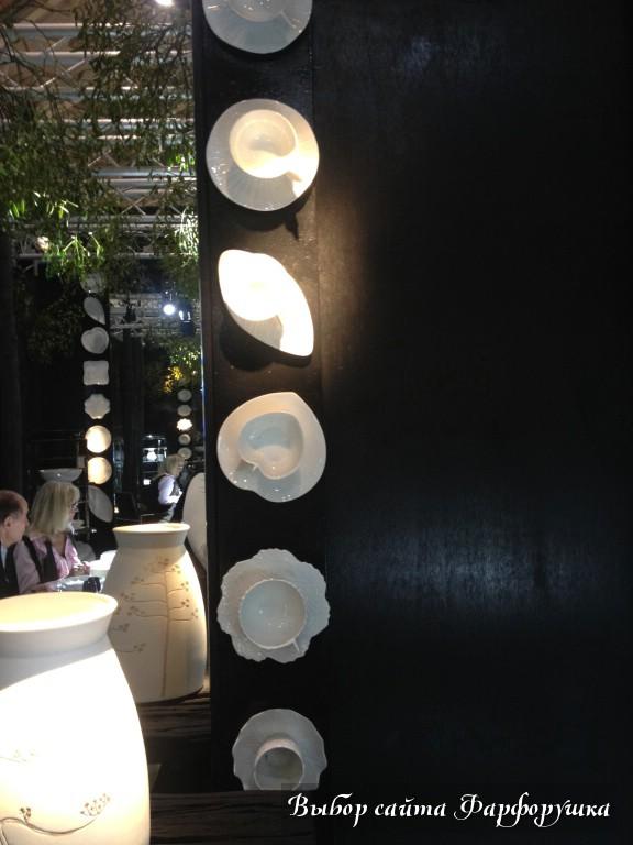 Maison & Objet 2014 - самые яркие фарфоровые новинки выставки, фотоотчет